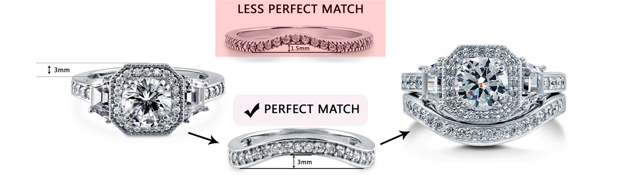 How to find the perfect wedding band